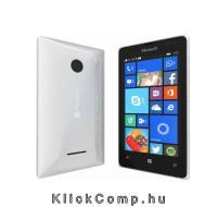 Akció 2015.05.31-ig  Microsoft Nokia Lumia 435 Dual SIM fehér mobiltelefon