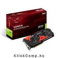 Akció 2014.07.06-ig  ASUS MARS760-4GD5 nVidia GDDR5 4GB 256bit PCIe videokártya
