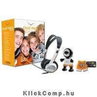 Akció 2014.12.21-ig  WEB Camera CANYON Kit CNR-CP8 1.3MP fekete/sárga/fehér