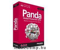 Akció 2014.06.24-ig  Panda Global Protection 2014 HUN 3 Felhasználó dobozos vírusirtó 1 év