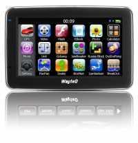 Akció 2014.07.06-ig  WAYTEQ X880 GPS 4,3  256MB 8GB 800 Mhz Windows  CE 6.0 térkép nélkül